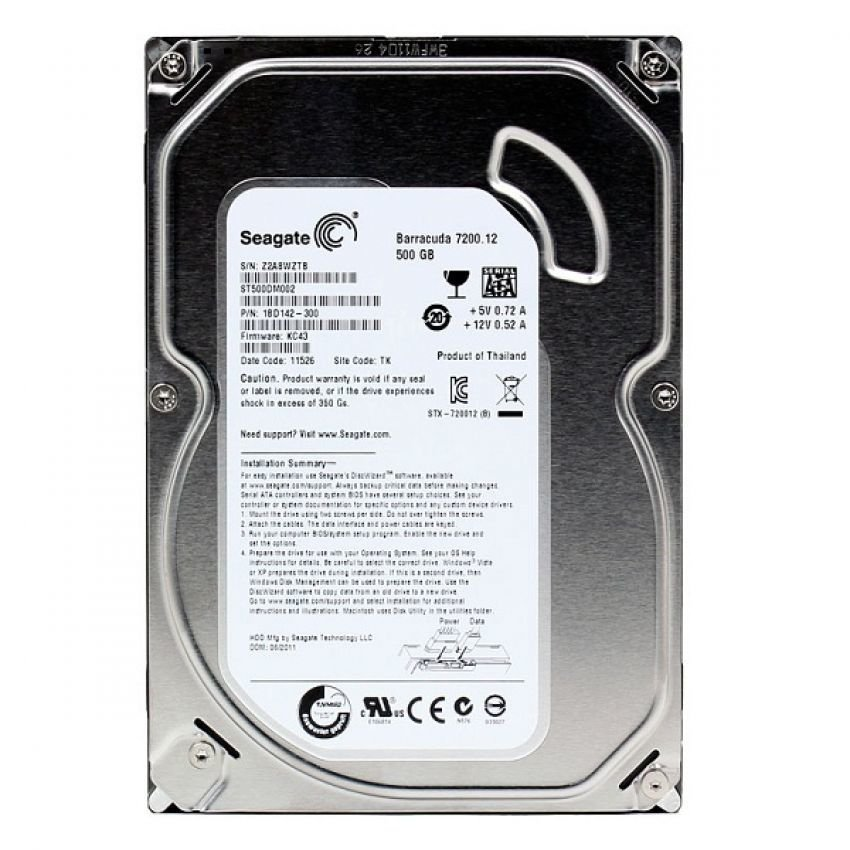 500GB Seagate (New)