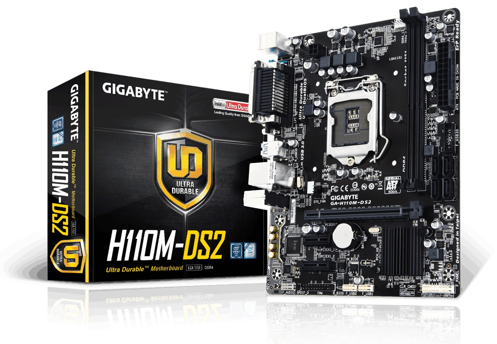 Gigabyte H110M-DS2 (New)